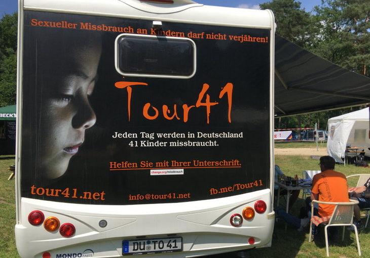 Tour41- Missbrauch an Kindern darf nicht verjähren - Liebe ist DU im Gespräch
